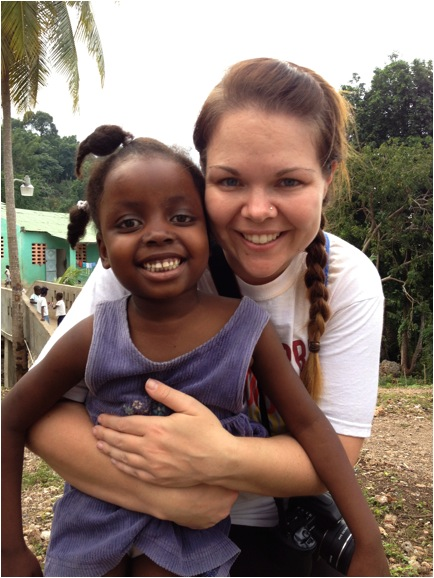 "Pamela Ferguson: ""I'm a Haiti fanatic! I am a grateful believer in Jesus Christ and feel blessed that He keeps calling me back to Haiti."""